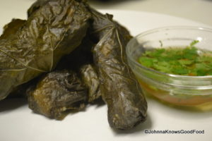 The Chicken Chronicles: Stuffed Grape Leaves