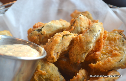 Fried Pickles @ Mad Fox Brewing Company