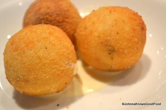 Arancini Balls @ Pizzeria Orso