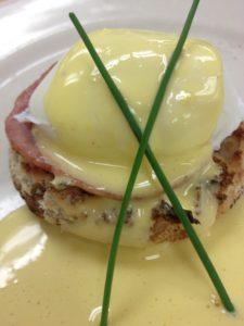 Johnna's Eggs Benedict created @ L'Academie de Cuisine