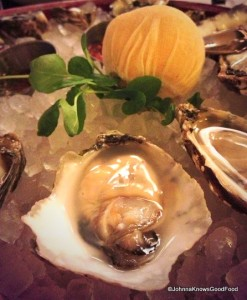 Brasserie Beck Fresh Oyster Selection