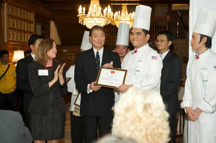 Amb Shen & Chef Shih-Yu Lin.