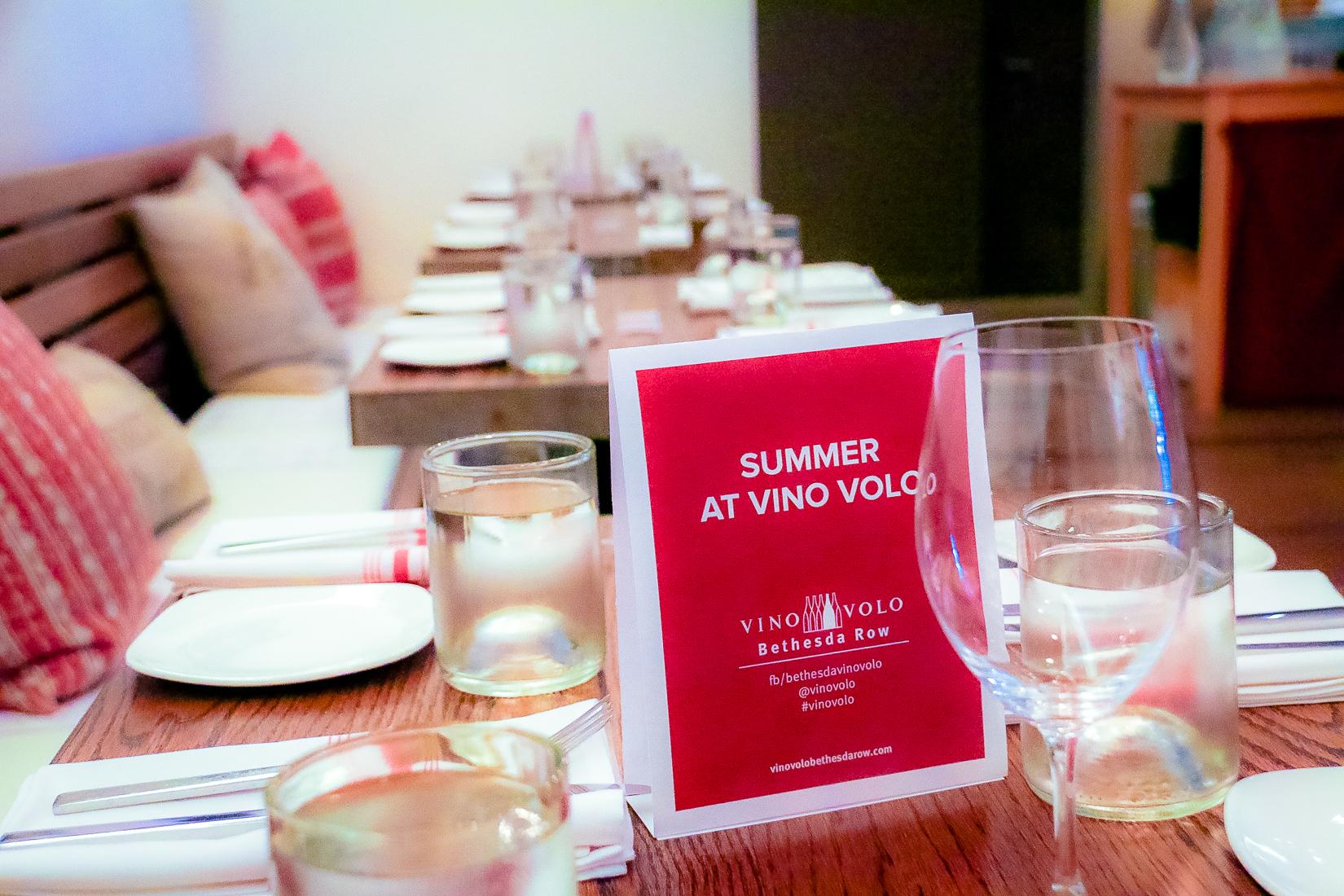 Summer in Vino Volo Bethesda 2014