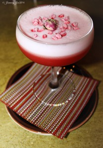 Raspberry Rose Pisco
