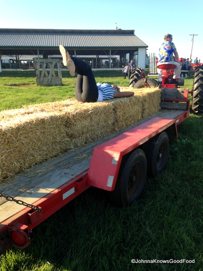 Hay Ride at the Eastern Shore.