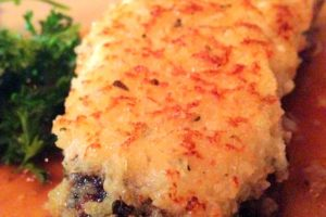 Dishes We Love:  Wildfire's Feta Crusted Steak