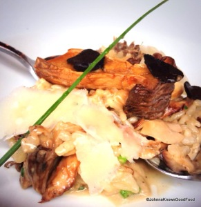 Silo Mushroom Risotto