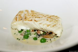 Halibut with Mussel Sauce