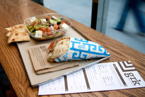 Lunchtime in the City:  GRK