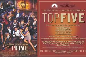 """""""Top Five"""" Movie Sneak Peak"""