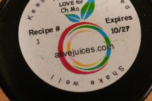 Fresh Pressed:  Alive Juices