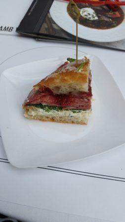 Lamb Sandwich via Occidental Grille