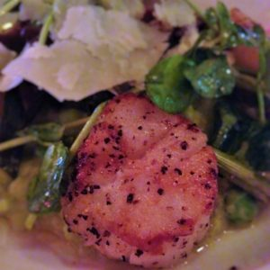 Seared Scallops at City Tap House DC