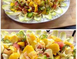 Hump Day Recipe:  Shaved Fennel, Cucumber, Beet and Grapefruit Salad
