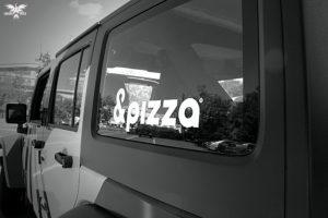 &Pizza Jeep Logo