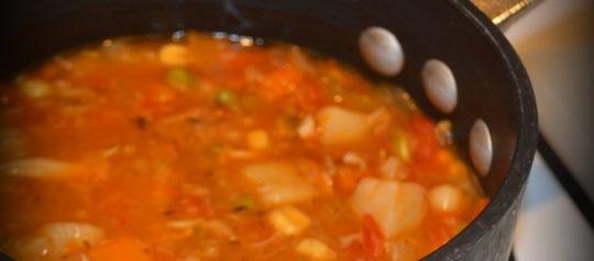 Hot and Spicy Cajun Gumbo