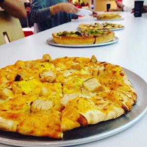 Pie Five Line of Pizza's