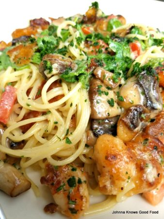 The Cheesecake Factory Bistro Shrimp Pasta