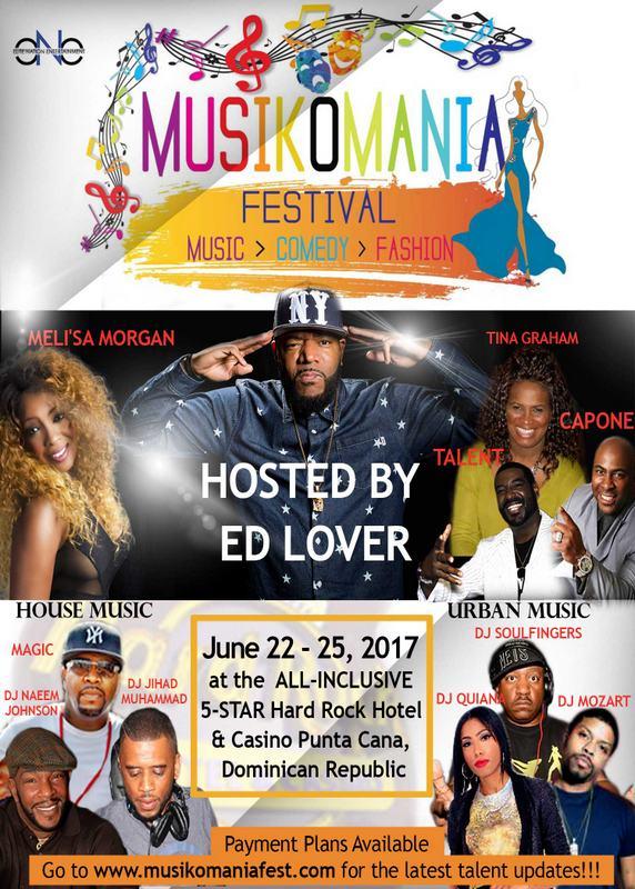 Musikomania Festival General Info Flyer