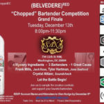 "Belvedere Red ""Chopped"" Bartender Competition Grand Finale"