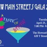 Tomorrow!  The Taste of Shaw Gala #LoveShaw