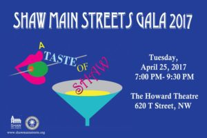 Tomorrow!  The Taste of Shaw Gala #LoveShaw