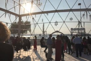 One More Week to Get Snow in August:  Summer Snow Globe at the National Harbor