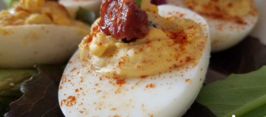 *New Recipe* Johnna's Game Day Ribs Deviled Eggs