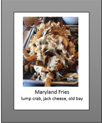 maryland fries