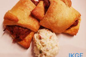 New Recipe Alert:  Johnna's Pulled Pork in a Blanket