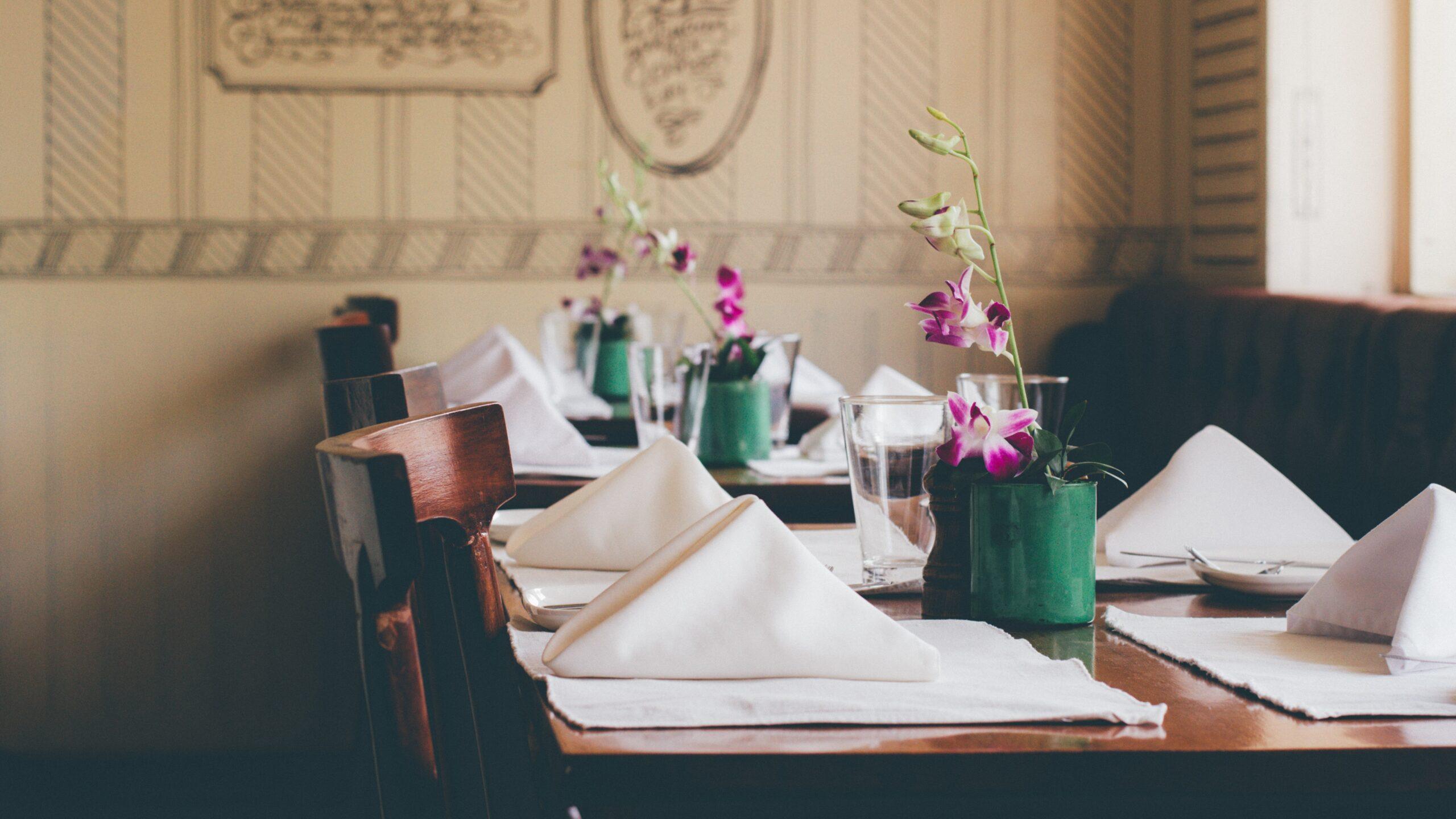 Dining Table Setup Inspiration